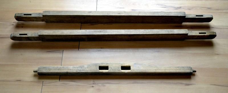 domek tkaczki części łączące boki krosien